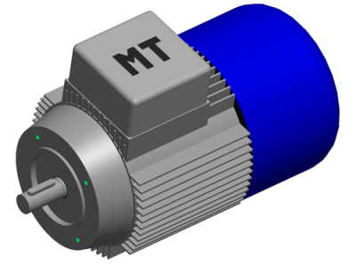 Новинка - двигатель переменного тока