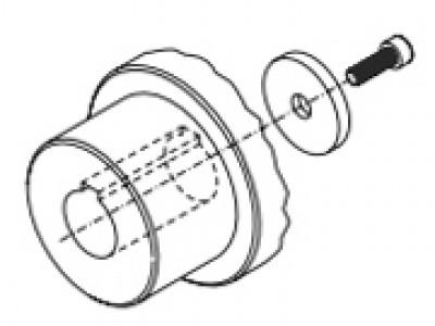 Различные исполнения ступицы для муфт