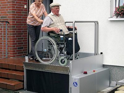 Подъемные платформы для инвалидов