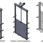 Использование прямоходных механизмов в затворах гидротехнических сооружений (гидрозатворах)