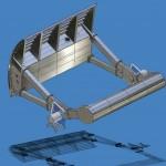 Прямоходные механизмы в гидротехнических сооружениях, гидрозатворах